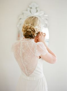 Gorgeous detail in this #JennyPackham dress, from Jemma Keech.