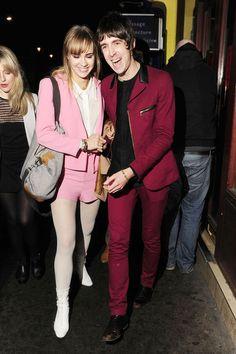 Miles Kane couple