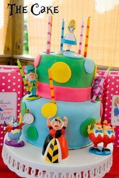 """Girl Birthday...for Taralyn perhaps? Or maybe we have an """"Alice and Wonderland"""" themed """"end of year"""" party? hmmmm...have to talk to Miss T about this."""