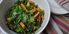 Green Stir Fry with