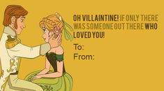 Hans from Frozen : | 21 Wicked Disney Valentine's Day Cards From Your Favorite Villains