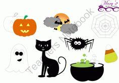 Halloween Clip Art from mzmary on TeachersNotebook.com -  (11 pages)  - Halloween Clip Art