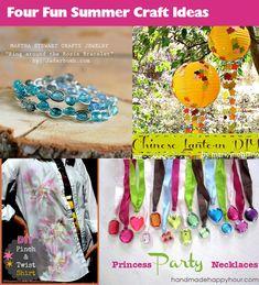 Four Fab Summer Craft Ideas