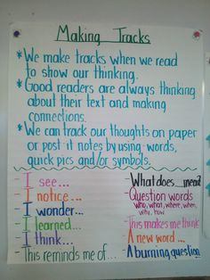 Awesome anchor chart!