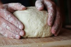 Step by step method (with photos) for making traditional Artisan French Bread
