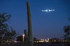 The Solar Impulse plane departs Phoenix, Arizona on May 22, 2013, on the second leg of its cross-country flight.