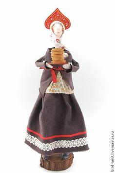 Народные куклы ручной работы. Ярмарка Мастеров - ручная работа Масленица. Handmade.