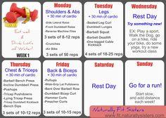 April Weight Training Challenge!! #AprilFitChallenge
