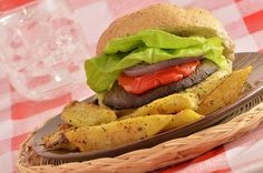 Portobello Burger with Savory Balsamic Marinade forecast