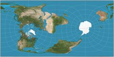 """If the prime meridian became our equator (aka Cassini projection)"" via Reddit: http://www.reddit.com/r/MapPorn/comments/27m02w/if_the_prime_meridian_became_our_equator_aka/"