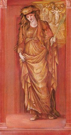 Edward Burne-Jones - Sibylla Tiburtina