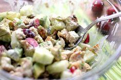 Summer Chicken Salad with Avocados & Cherries