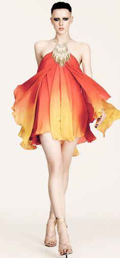 Julien Macdonald Spring 2013♥✤ | Keep the Glamour | BeStayBeautiful fashion weeks, macdonald ss, dress, spring summer, macdonald spring, london fashion, spring 2013, julien macdonald, ss 2013