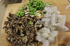 Salmon, Shrimp, Pea, Quinoa Hot Chopped   The Kitchen Chopper