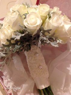 bouquet rose e cineraria