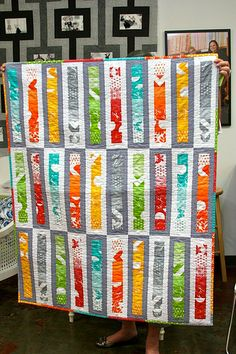 Modern Patchwork Mini Quilt Club - Roller Rink - At CityCraft. I am so going to make a quilt like this!