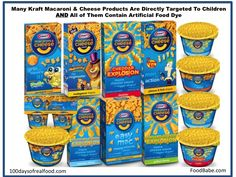 Our Response to Kraft's Letter: It's Time To Surrender Your Artificial Dyes on http://foodbabe.com