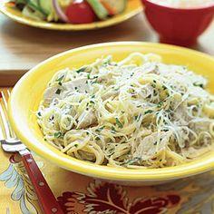 Pasta with Chicken and Artichokes | MyRecipes.com