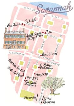 maps, road trips, vintage rings, travel, wonderful places, savannah georgia, design, low country, country homes