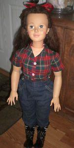 Ideal 38" Play Pal National Velvet vintage doll