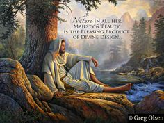 A wonderful painting and quote. The art is by Greg Olson.