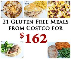 Enjoy a month's worth of meals from Costco featuring all Gluten Free recipes from 5DollarDinners.com