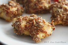 24/7 Low Carb Diner: Pepperoni Crusted Chicken Nuggets