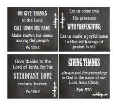 scriptur card, vers card