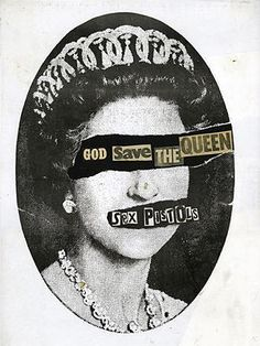 The art of punk: Jamie Reid's cover art for the Sex Pistols 'God Save The Queen'