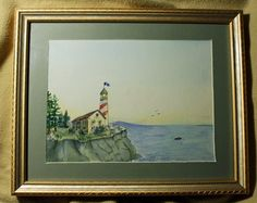 Original PaintingWatercolorPainting Art by ADKArtsBoutique on Etsy, $70.00