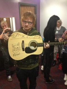 Ed Sheeran. (: