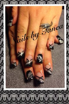 Nailed by Tanea. Street vibrations 2013. Nails 2013. Gel nails. Glitter nails