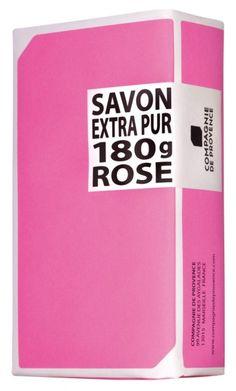 Compagnie de provence soap rose