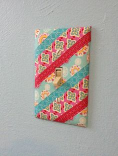 Washi Tape Light Switch Plate