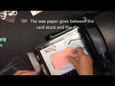 1 Minute to WOW! Video.  Thinlits Tips & Tricks!  Stampin' Up!