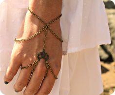 Slave Bracelet Hipster Bronze Chain Bohemian by FunnyPeopleCo hipster, chain bohemian, bronz chain, slave bracelet