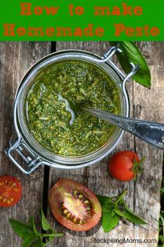 How to make Homemade Pesto