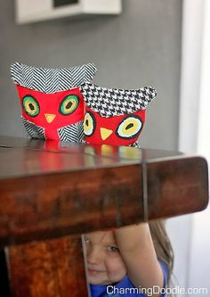 DIY: Owl Puppets with Printable Pattern