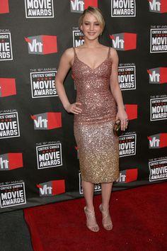 Jennifer Lawrences stunning styles