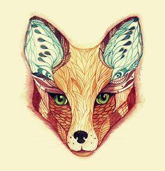 tattoo ideas, fox art