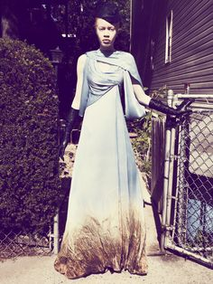 NYC This Way  GO TO ARTICLE »  Photography ROBBIE FIMMANO  Stylist SARAH ELLISON  On Diandra Forrest, 22.