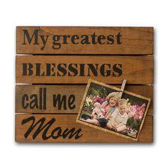 Greatest Blessings Mom Photo Pallet