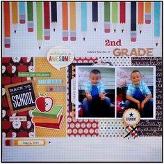 """2nd Grade"" Layout by Brenda Ragsdale"