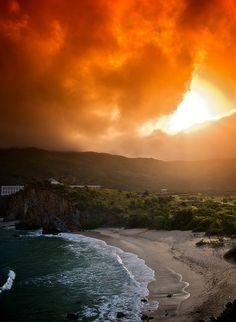 Sunrise, Margarita Island, Venezuela. Isla de Margarita
