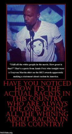 "He also incited rioting in that ""speech"". DIRTBAG...gee, what if a white person wore a shirt with George on it?"