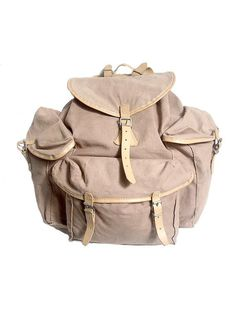 60s french LAFUMA BACKPACK canvas by lesclodettes on Etsy, $120.00