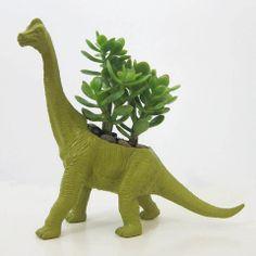 plaid pigeon, animals, brachiosaurus planter, dinosaur, france, planters, bathroom, succul, gift idea