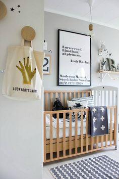 sweet neutral baby's room // #nursery