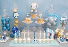 Great Hanukkah Ideas - Chanukah Dessert Table