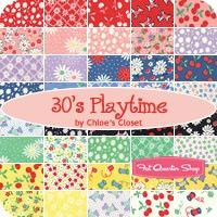 REPIN if you love the new 30's Playtime, coming soon from Moda Fabrics!
